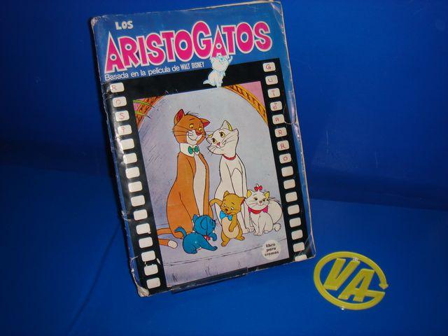 Album cromos LOS ARISTOGATOS completo año 1971