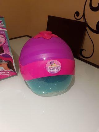 casco masajeador juguete