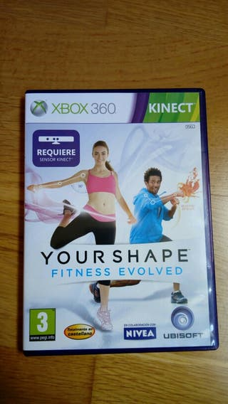 Juego xbox 360 Your shape fitness evolved