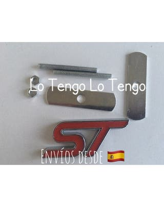 Logo emblema Frontal ST Metal Ford