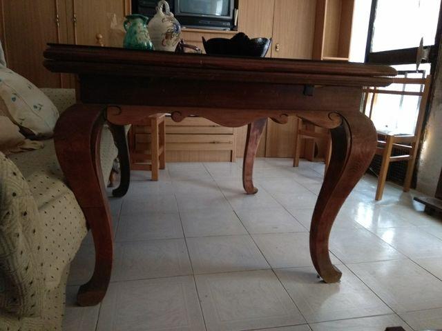 Mesa comedor antigua (Roble) de segunda mano por 200 € en La Fortuna ...