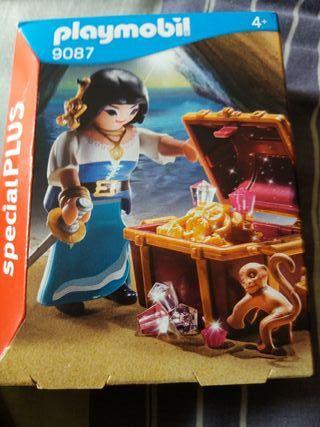 Playmobil Especial Plus: Pirata con Tesoro SIN ABR
