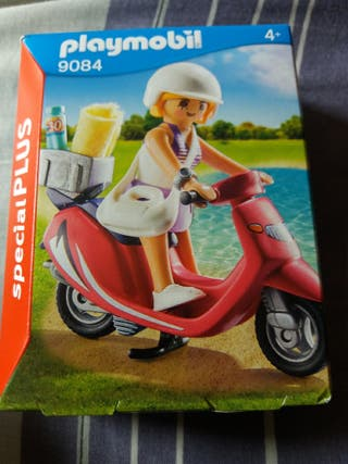 playmobil special plus: Mujer con Scooter. SIN ABR