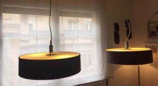 Por traslado urge: dos lámpara