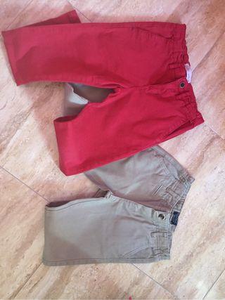 Pantalones Pack talla 5/6 mayoral y zara