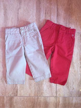 Pantalones niño talla 6-12 de sfera Pack
