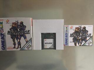 Metal Gear para GameBoy Color