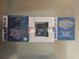 Zelda Oracle of Ages para GameBoy Color