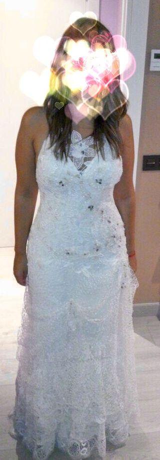 Vestido novia firma Yolan Cris