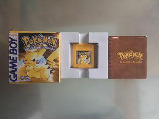 Pokemon Edicion Pikachu para GameBoy