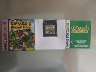 Conker Pocket Tales para GameBoy Color