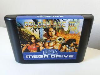 Juego Golden Axe III 3 para MegaDrive