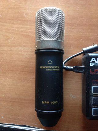 Microfono condensador marantz