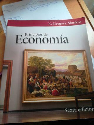 libro de economía Gregory Mankiw Sexta edición