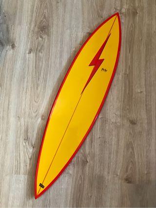 Tabla de surf decorativa