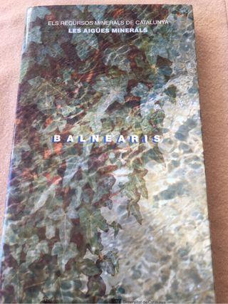 Llibre catalec Dels Balnearis de Catalunya