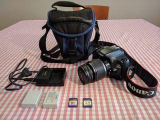 Camara reflex canon 550D EOS