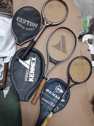 Raquetas Tenis Fronton Antiguas