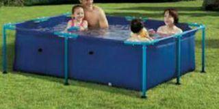 Kit piscina tubular+filtro+skinner+dosificador...