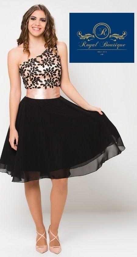 349ba19235aea Vestido corto fiesta color negro talla 40 a 54 de segunda mano por ...