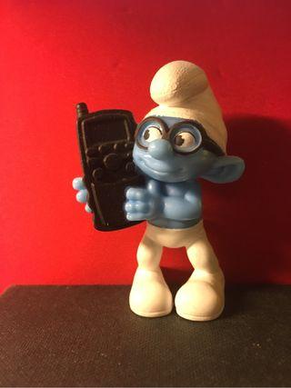 Pitufo teléfono móvil brainy