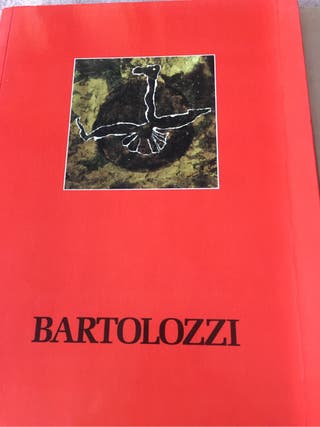 Libros catalogos del artista R. Bartolozzi