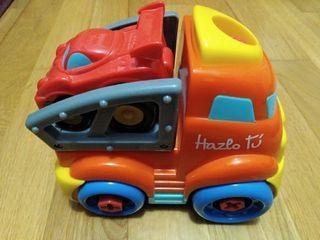 Camión con tuercas Rebajado