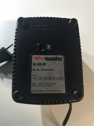 Cargador bateria wurth 7,2-18v