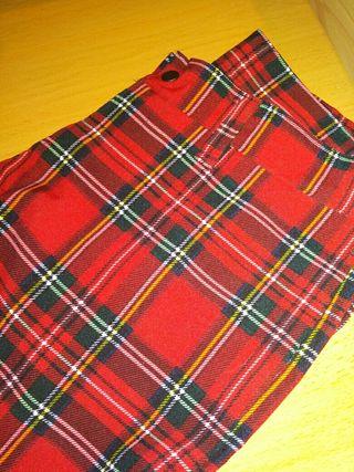 pantalón escocés