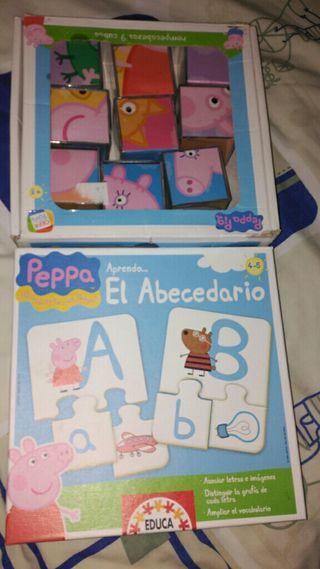 Juegos educativos Peppa Pig