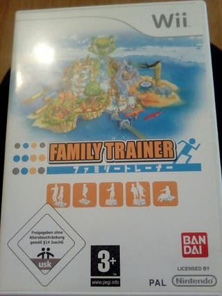 juego wii family trainer