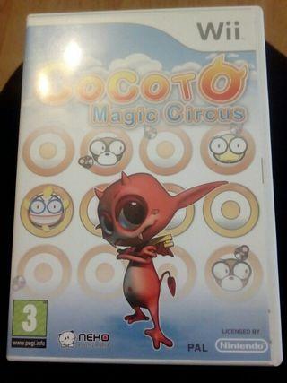 juego wii cocoto magic circus