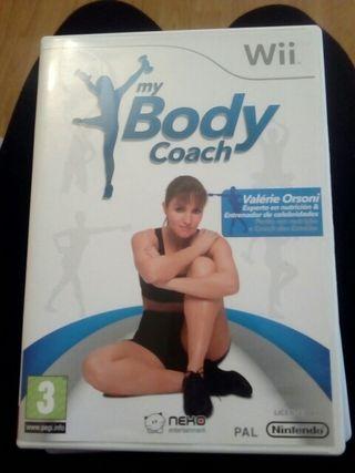 juego wii my body coach