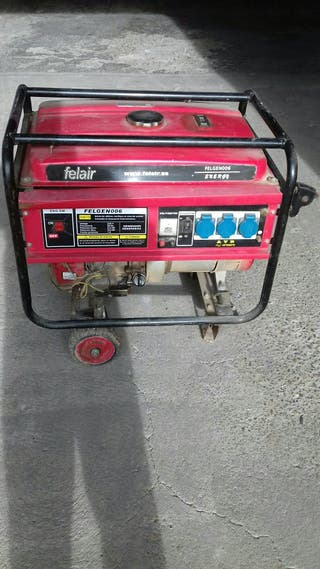 Generador felair gasolima