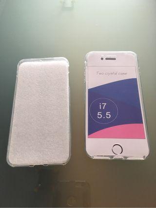 Funda iPhone 7s plus doble