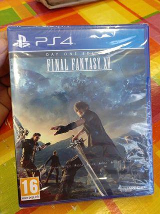 Final Fantasy XV PRECINTADO