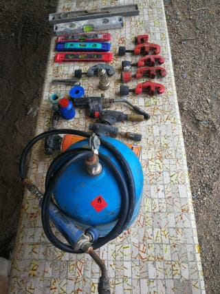 herramientas fontanería