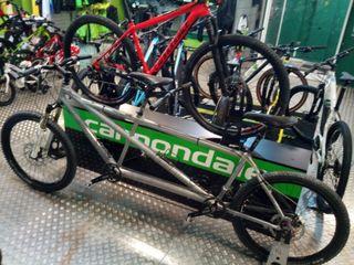 Bicicleta Cannondale Tandem mtb