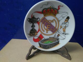 Plato decorativo Real Madrid