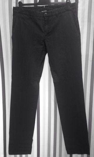 Pantalón azul cuadros T.40