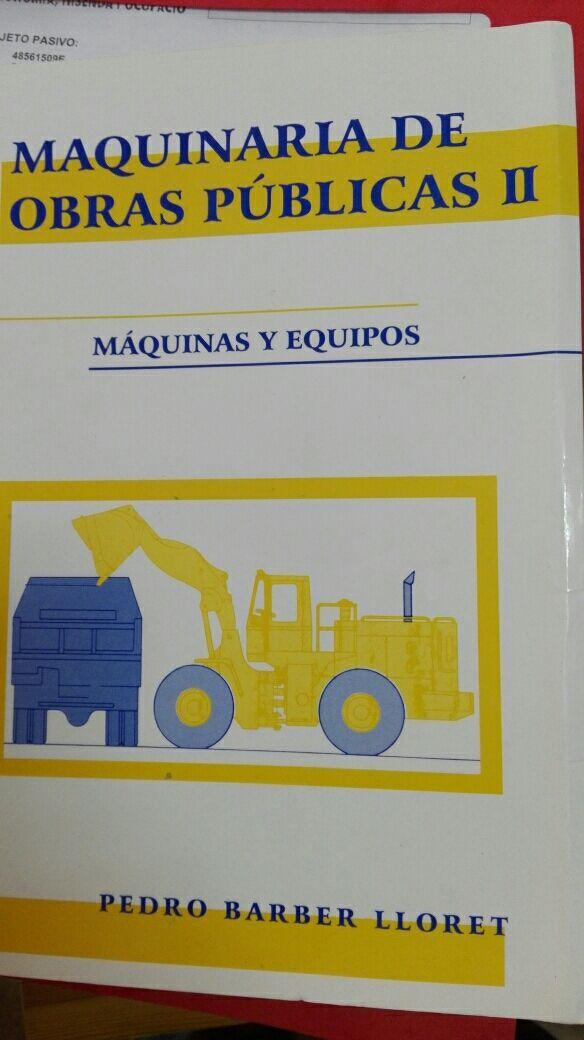 Maquinaria de obras públicas II