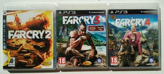 Lote Far Cry PS3