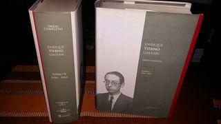Libros Tierno Galván