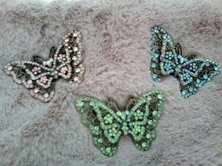 broche mariposa cristal Swarovski