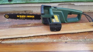 black decker motosierra eléctrica 35 cm 369090