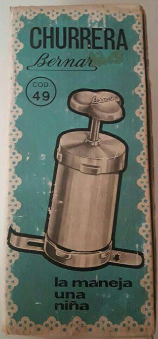 Churrera Bernar de los años 60