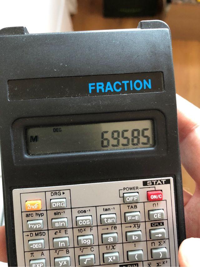 Calculadora científica vidal