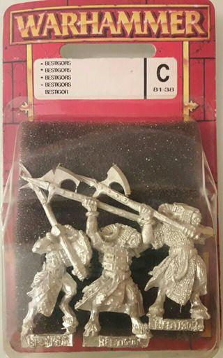 Bertigors de plomo de Warhammer