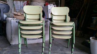 Guardería mesas y sillas