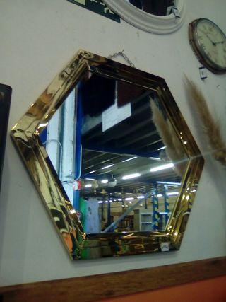 Espejo acero cromado